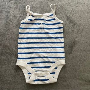 🌟5/15$🌟 striped tank top onesie